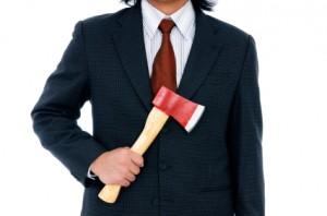 psychopath - man with ax